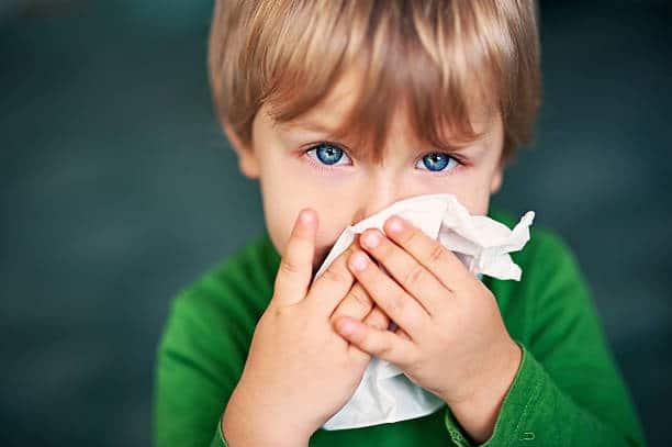 เด็กเป็นหวัด
